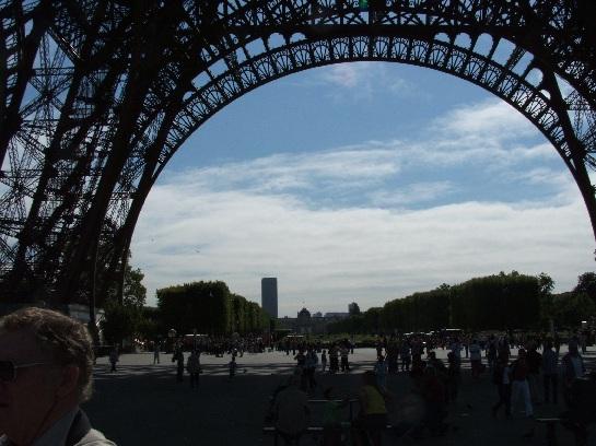 Base of the Eiffel Tower, Paris, France