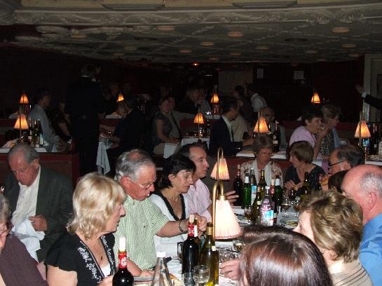 Tour Group at the Moulin Rouge, Paris, France