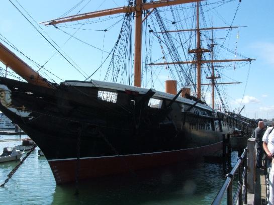 H.M.S. Warrior, Portsmouth, England
