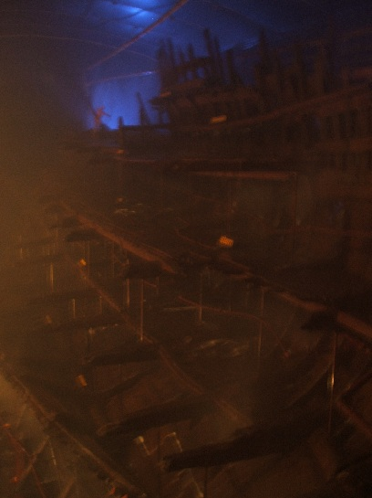 H.M.S. Mary Rose Restoration, Portsmouth, England