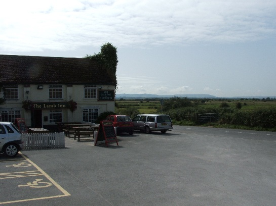 The Lamb Inn on the way to Hastings, England