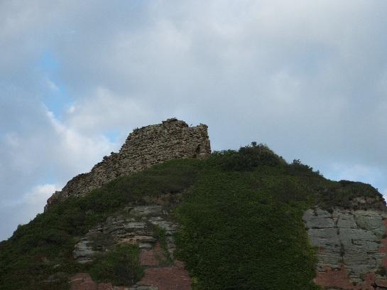 Ruins of Hastings Castle, Hastings, England