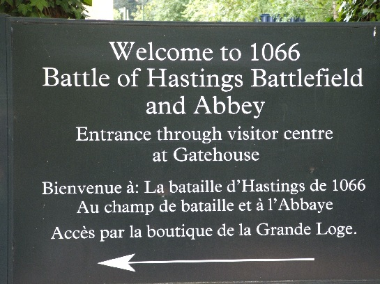 Battle of Hastings Battlefield and Abbey, Battle, England