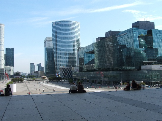 La Defence Plaza, Paris, France