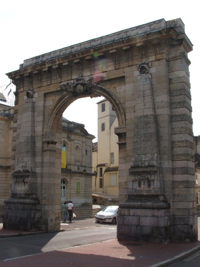 Entry Arch in Beaune, France