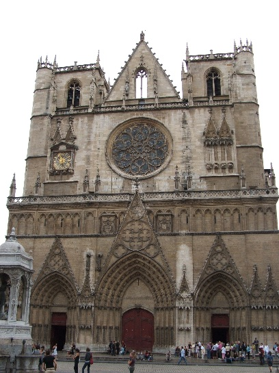 The Cathedral in Lyon, France