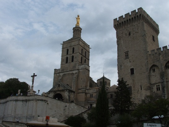 The Cathedral in Avignon, France