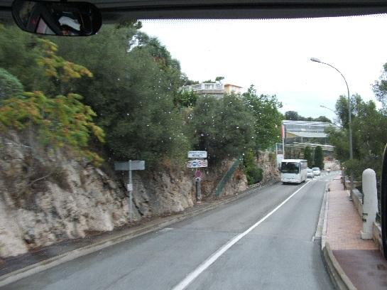 Entering Monte-Carlo, Monaco