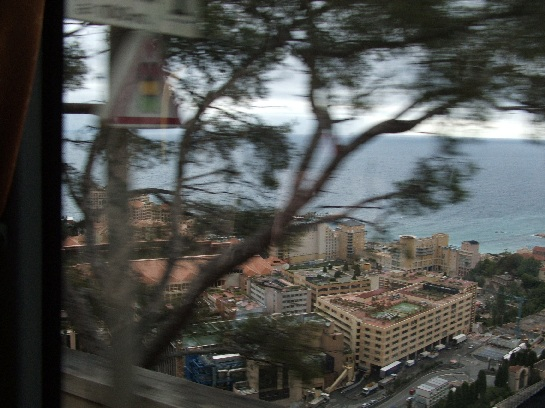 Overlooking Monte-Carlo, Monaco