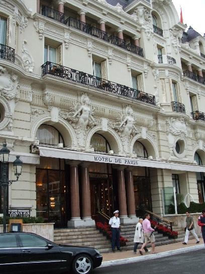 Hotel de Paris, Monte-Carlo, Monaco