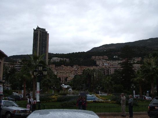 The gardens outside Monte-Carlo Casino, Monte-Carlo, Monaco