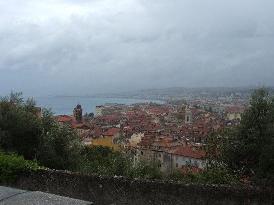 View over Nice, France