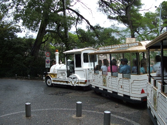 Tourist train in Nice, France