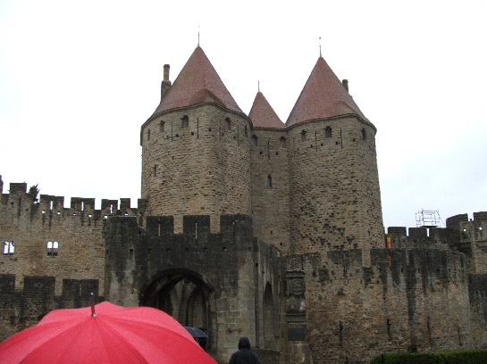 Carcassonne castle, Carcassonne, France