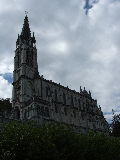 Cathedral at Lourdes, France