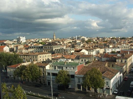 Overlooking Bordeaux, France