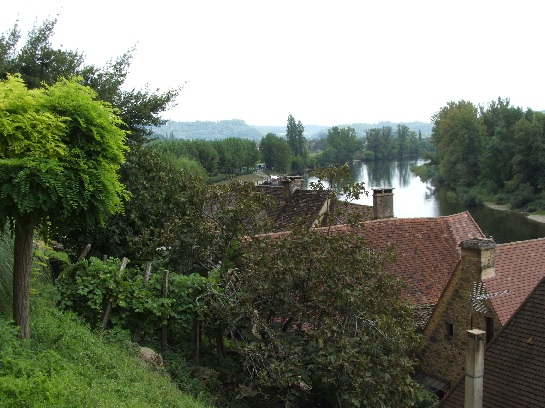 River in the Dordogne Valley, France