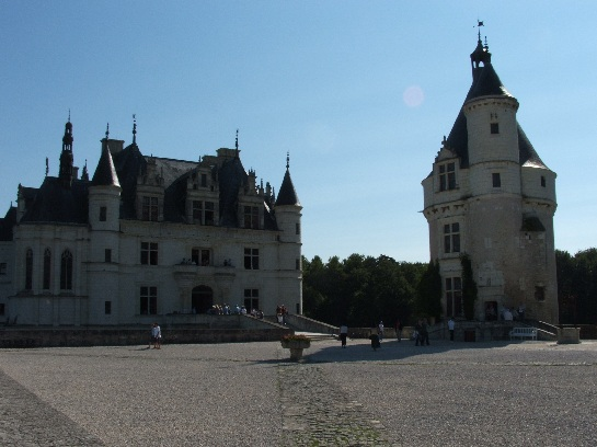 The Palace of Chenonceau in the Loire Valley, France