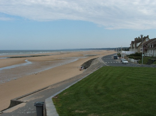 D-Day landing fields, Omaha Beach, Normandy, France
