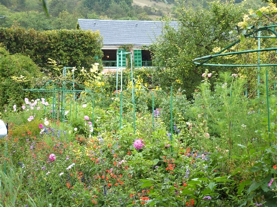 The House and Gardens of Claude Monet's Giverny, Normandy, France