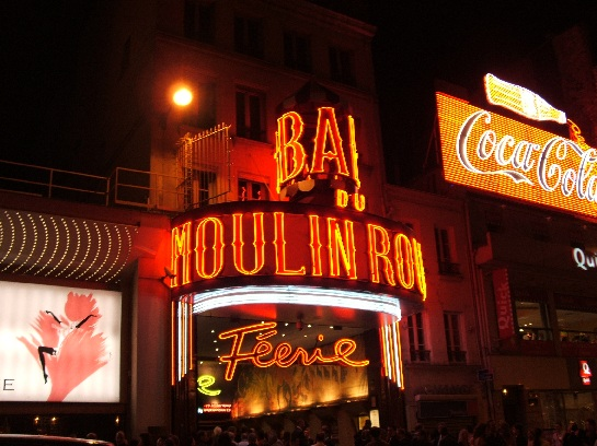 Feerie at the Moulin Rouge, Paris, France