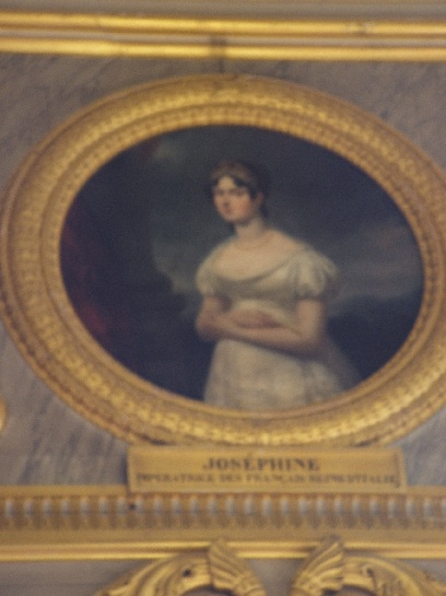 Painting of Josephine at Versailles Palace, Paris, France