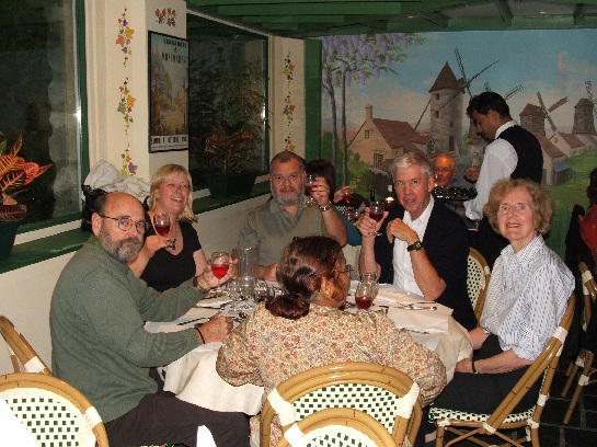 Best of France Final Dinner on Montmartre, Paris, France