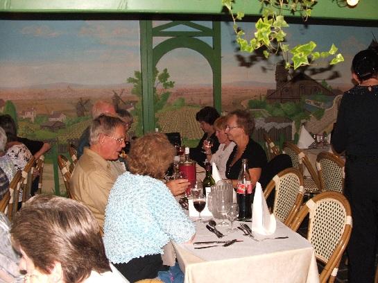 Best of France Final Dinner on Montmartre, Paris, France