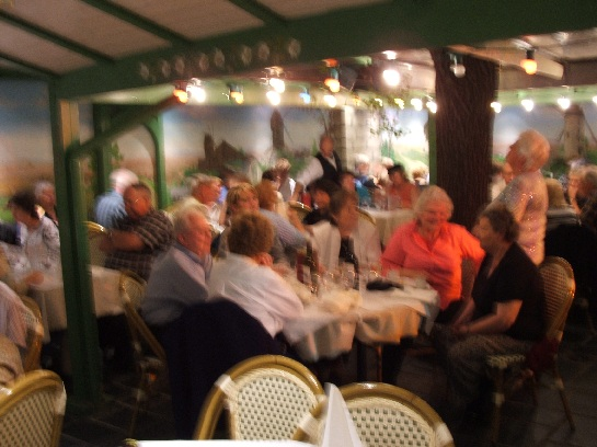 The Best of France Final Dinner on Montmartre, Paris, France