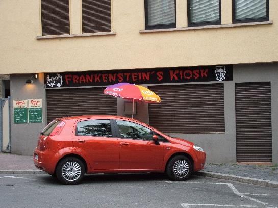 Frankenstein's Kiosk in Frankfurt, Germany