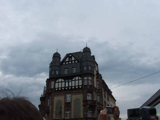 Building in Frankfurt, Germany