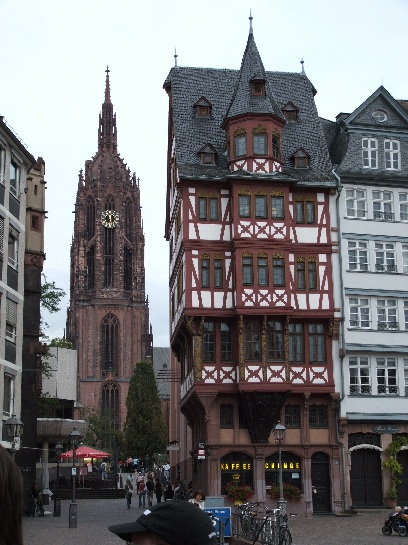 Cathedral in Frankfurt, Germany