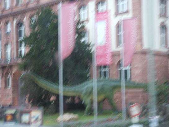Dinosaurs in Frankfurt, Germany