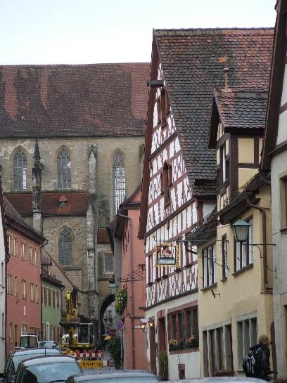 Church in Rothenburg, Germany