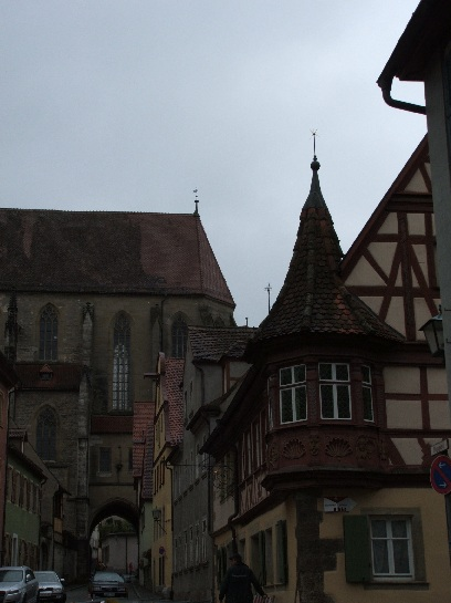 Church in Rothenburg, Germany