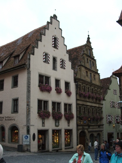 Main square in Rothenburg, Germany