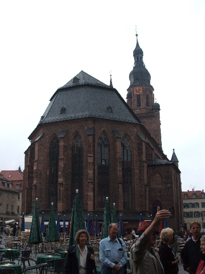 The Cathedral in Heidelberg, Germany