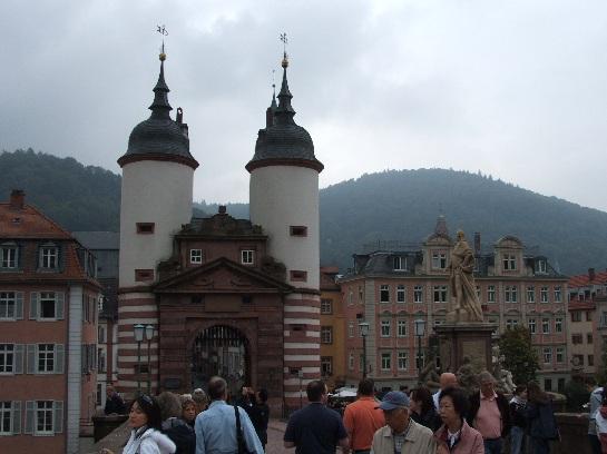 The bridge in Heidelberg, Germany