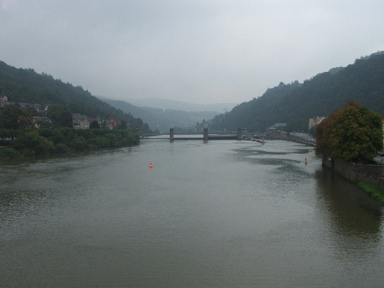 The river in Heidelberg, Germany