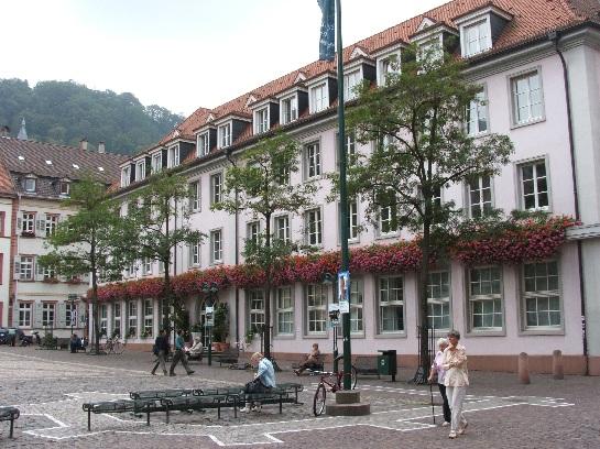 Main square in Heidelberg, Germany
