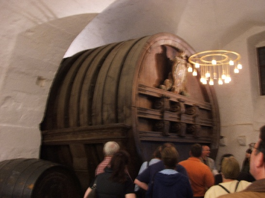 The wine cellar, Heidelberg Castle, Heidelberg, Germany