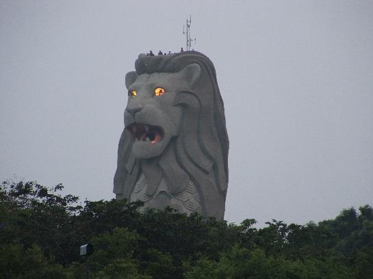 Merlion on Sentosa Island, Singapore