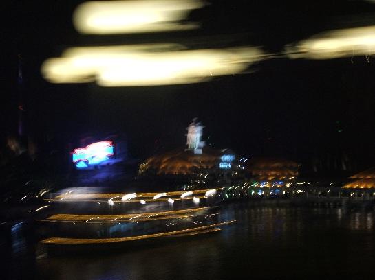Singapore at night from Sentosa Island, Singapore